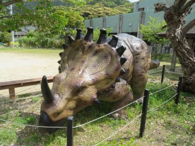 トリケラトプス♪ティラノサウルス♪しいがる3号♪与一ヶ浦港♪しおさい館♪熊本・天草 島巡り 2019年4月 3泊4日1人旅(個人旅行)64