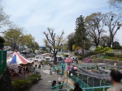 駅からハイキングで前橋へ2019②~るなぱあくと前橋公園の桜~