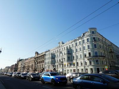 2019.05 ロシア④ サンクトペテルブルクを3万歩!