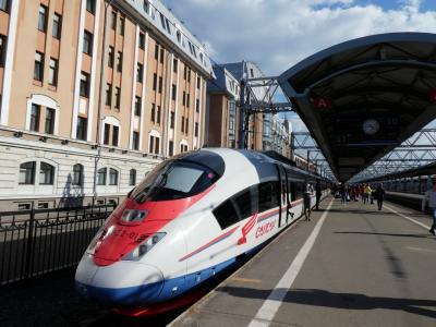 2019.05 ロシア⑤ サプサン号ファーストクラスでモスクワに行く!