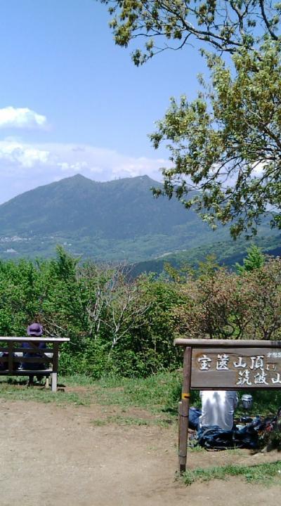宝篋山(筑波山の隣の山)