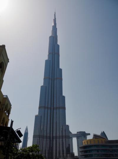 UAE/セイシェルの夕陽を探しに平成ラスト旅_vol.4トランジットで世界一のビルを見てみる(2019年4月)