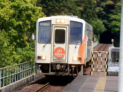 徳島高知ドライブ旅行4-甲浦から日和佐まで 阿佐海岸鉄道と牟岐線に乗る