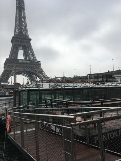 GWパリ&ロンドン旅 セーヌでお洒落なクルーズランチ