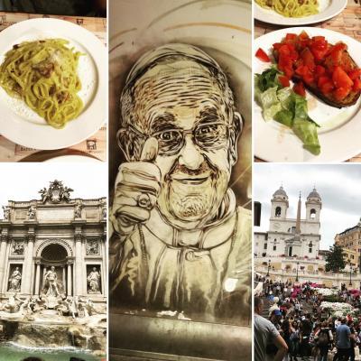 ヒストリカルな街、roma