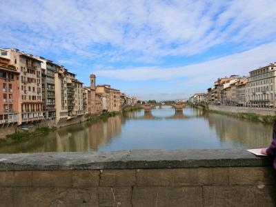 フィレンツェの栄華を残り香に~広場巡り・アルノ川・ヴェッキオ宮殿~