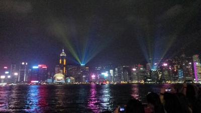 キラキラ☆彡夜景IN香港