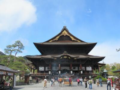 GW長野温泉と桜満喫の旅(1)
