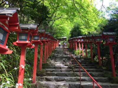 学生時代以来の貴船神社参拝と、岩倉散歩