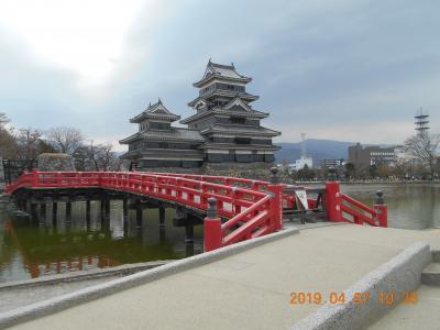 松本城と開智学校