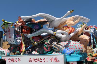2019GW 青森県青森市の旅(3、4日目/青森市内、津軽海峡フェリーで函館へ)