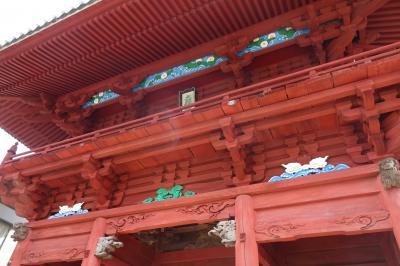 かもめの佐久米駅と湖北五山めぐり(2/4)朱が緑に映える大福寺、およそ半世紀ぶりの方広寺