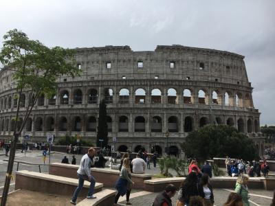 2019 GW 個人手配、夫婦で行く ローマとフィレンツェ ローマ前半