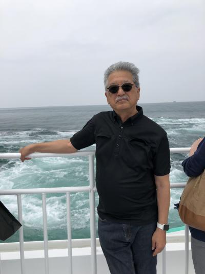 鳴門から淡路島へ