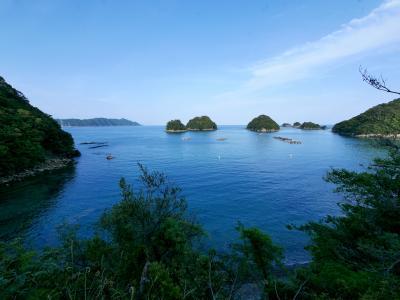 徳島高知ドライブ旅行6-南阿波サンライン,海南市鞆浦,手倉湾,すばらしい水床湾