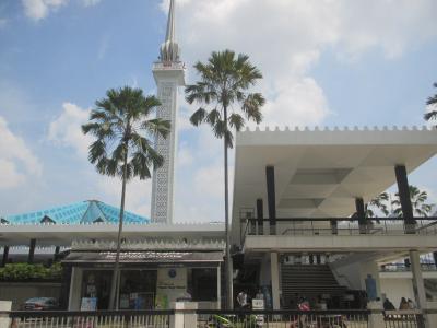 マレーシア 国立モスクをぷらっとしてきました。