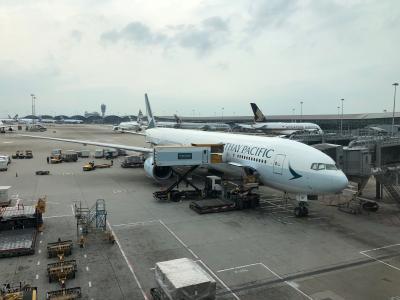 キャセイパシフィック航空ビジネスクラス利用シンガポール3日間