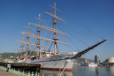 長崎へ! 夫婦共に初めての長崎を訪れました。 その7 長崎帆船まつりへ。。