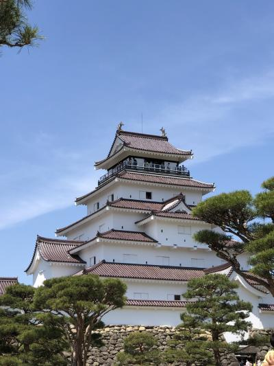 鶴ヶ城  あだたら山ロープウェイ