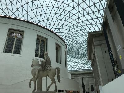 大英博物館、ルーブル美術館など美術館を巡る旅 ロンドンday1 and day2