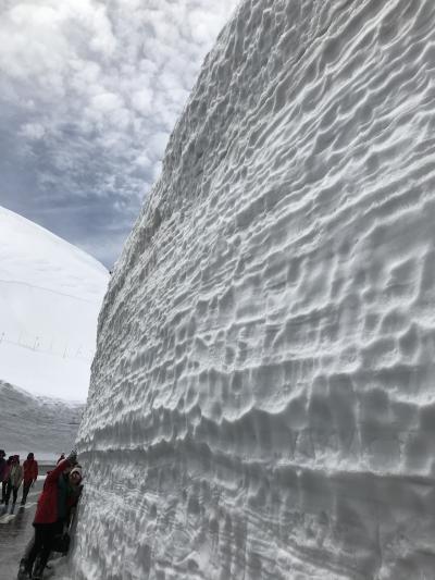 2019年4月 立山黒部アルペンルート・雪の大谷ウォーク