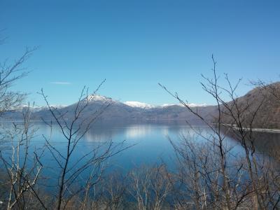 支笏湖にて。またひとつ年をとった平成最後のBIRTHDAY