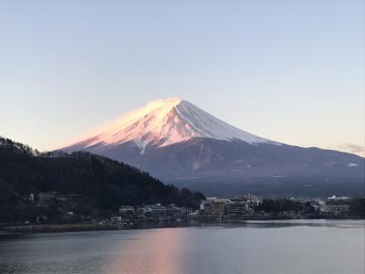 2019年3月 富士山を見ながら温泉に