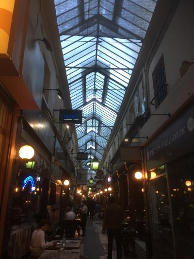 自分だけのパリを過ごそう!『自分で作る旅!』パリを遊び尽くす6日間  番外 パサージュ編