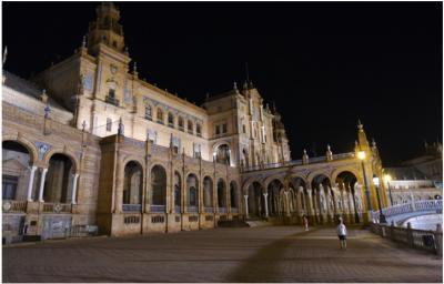 スペイン旅行の大満足NO.1は、 セビリア!
