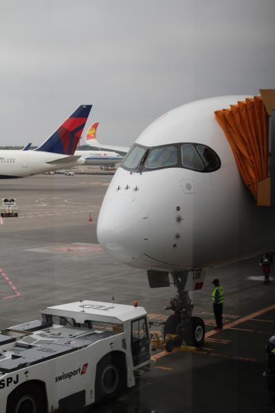Vol.1 出発~到着まで 2019GW マカオ ~1日限定?の香港航空A350 大遅延~