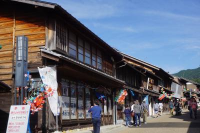 安曇野から木曽路経由、東海の祭りの放浪旅(六日目)~日本大正村から岩村城下町へは明智鉄道。明智光秀に朝ドラ「半分、青い」も彩を添えています~