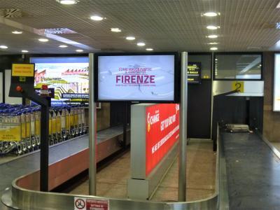 2019GW イタリア1 フィレンツェ空港へ