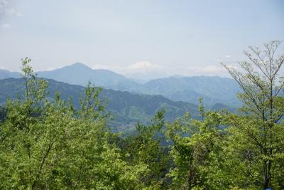 GWで賑わう、新緑の高尾山