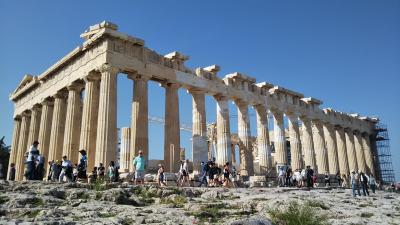 海外一人旅第18段はギリシャの眩しい青い空に感動 - 出国編