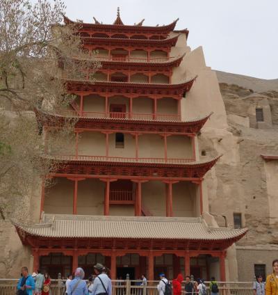 中国西安・敦煌旅行4日目:莫高窟・敦煌博物館・白馬塔