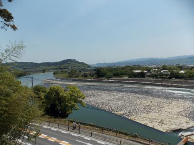 山田堰を見に行きました