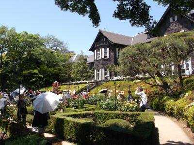 旧古河庭園・春のバラフェスティバル
