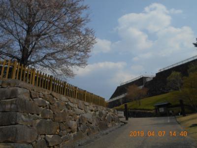 甲府城と武田神社と藤村記念館