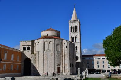 クロアチ旅行-3:ザダル(寒気団がいる)