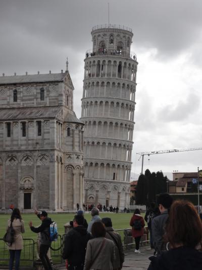 老夫婦イタリア旅行 5日目  (ピサの斜塔編)