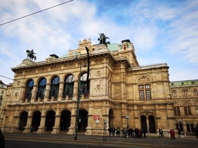 留学中女子の初ひとり旅 in ウィーン!!音楽の都を自由気ままにたびする2泊3日(1,2日目)