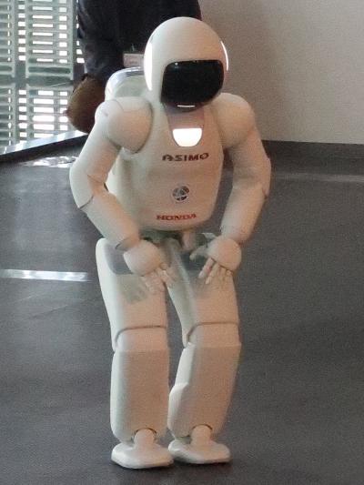 お台場-6 Miraikan 2/3 〔ロボットとくらし〕☆ASIMOの進化・ISS居住棟模型も