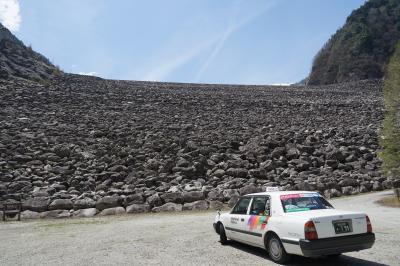 令和最初のGW信州安曇野の旅後編 、秘境高瀬渓谷と巨大な高瀬ダム、名もなき湖へ行く