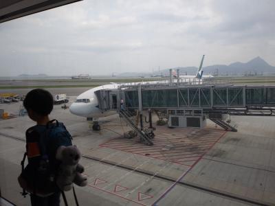 day8-9 航空機遅延によりまさかの香港1泊に…[19' 子連れ(8歳小2)オーストラリアの旅]