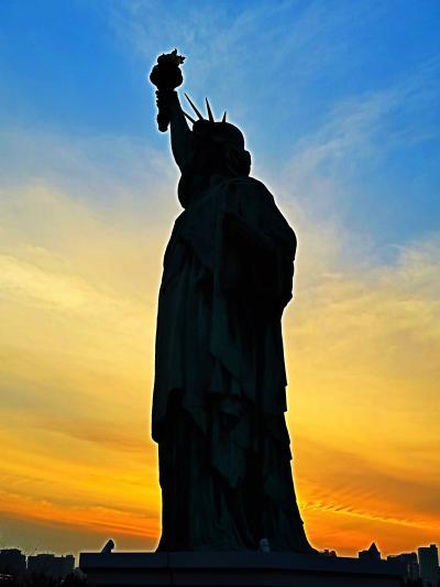お台場10 自由の女神像 人気の撮影スポット ☆フランス政府公認のレプリカ