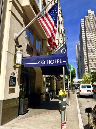 うるるんSF滞在記2019/GW★第1日目①★『クラブクォーターズ ホテル サンフランシスコ』はワインレセプションなど充実のサービス♪