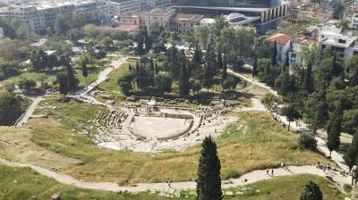 海外一人旅第18段はギリシャの眩しい青い空に感動 - 観光1日目(アテネ編前半)