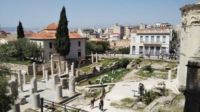 海外一人旅第18段はギリシャの眩しい青い空に感動 - 2日目(アテネ編後半)