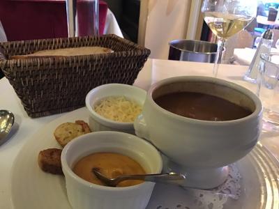 フランスブルターニュ地方サンマロ(2)城壁内のレストランで魚介類食べる!