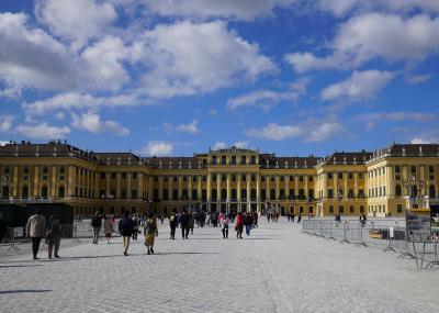 2019 GW 中欧4カ国周遊 【2】世界遺産・シェーンブルン宮殿、ウィーン王宮